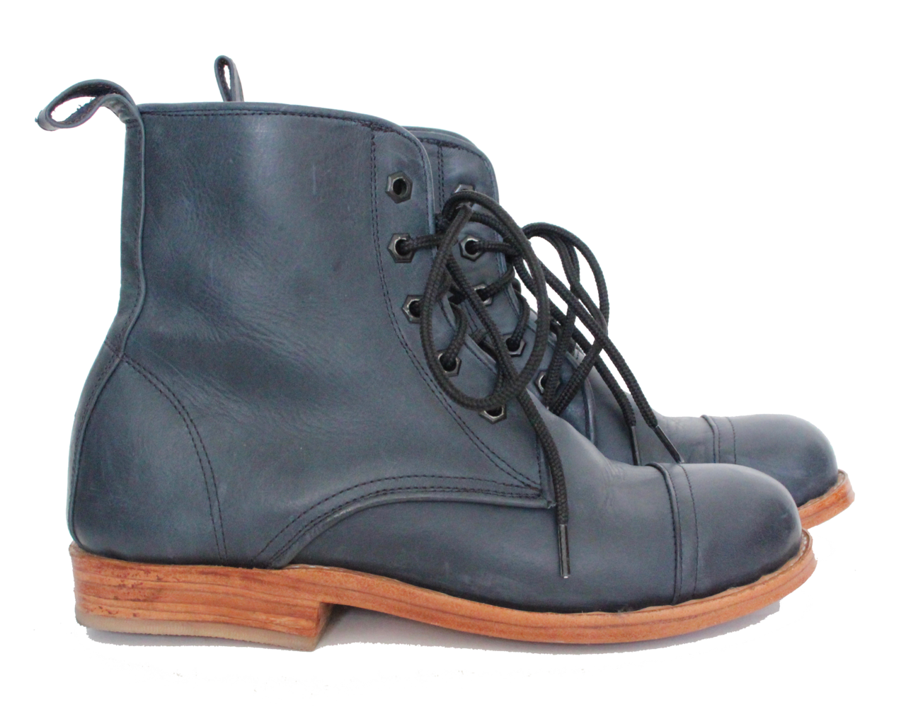 Women's Leather Peace Boot
