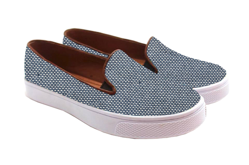 New Denim Woven Adventure Sneaker