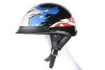 DOT Approved Motorcycle Helmet W/ Eagle Graphic