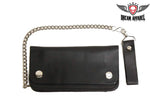 Black Biker Chain Wallet