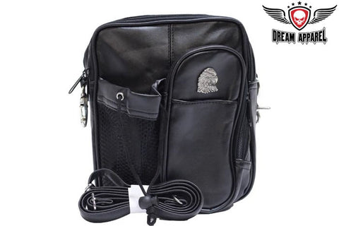 Eagle Head on Womens PVC Bag