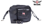 Womens PVC Bag with American Flag