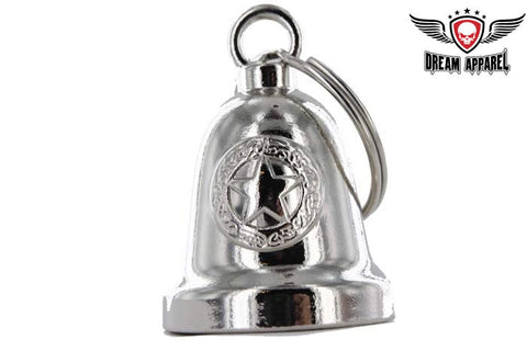 Police Star Chrome Motorcycle Bell