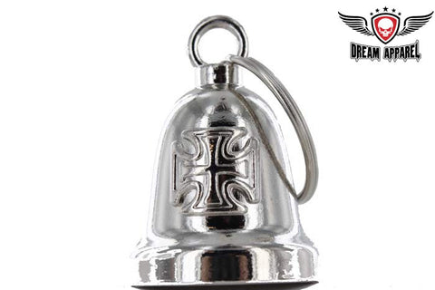Chopper Cross Chrome Motorcycle Bell