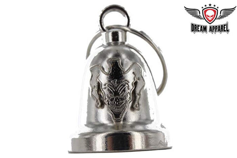 Joker Chrome Motorcycle Bell