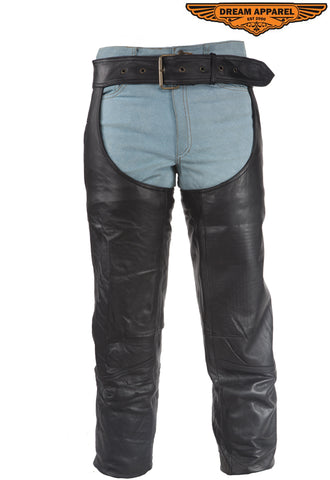 Biker Chaps With 1 Pocket