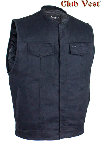 Men's Black Denim Gun Pocket Vest by Club Vest®