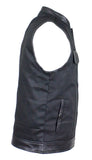 Men's Black Denim Vest by Club Vest®