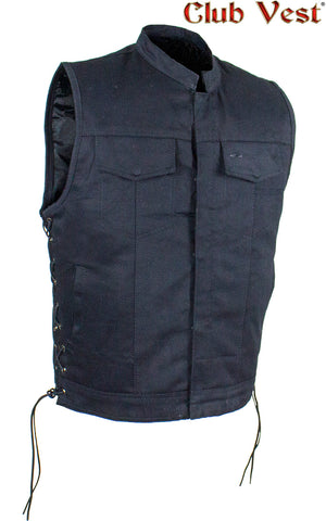 Men's Denim Gun Pocket Vest by Club Vest