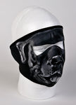 Gray Bulldog Face Mask