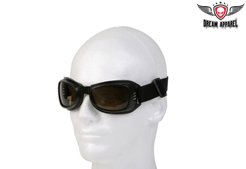 Riding Goggles With Amber Lens