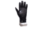 Full Finger Womens Gloves With Faux Fur