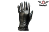 Full Finger Woman's Leather Gloves