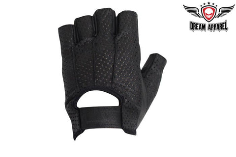Fingerless Motorcycle Gloves