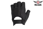 Leather Motorcycle Riding Gloves With Velcro