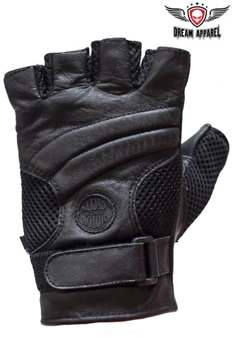 Motorcycle Fingerless Gloves