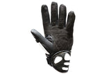 Mens Padded White Racing Gloves