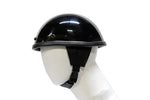 Smokey Shiny Novelty Motorcycle Helmet With Snaps & Visor