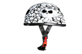 White Eagle Novelty Helmet with Skulls