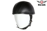 Leather Cover Smokey Novelty Motorcycle Helmet