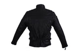 Womens Racer Motorcycle Leather Jacket