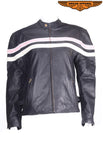 Womens Reversible Motorcycle Jacket