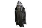 Womens Soft Leather Jacket With Airvents