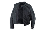 Lightweight Nylon & Mesh Motorcycle Jacket