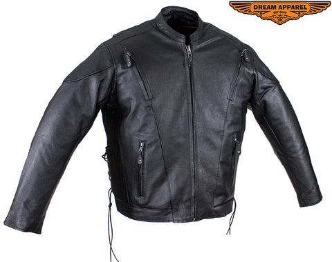 Mens Racer Jacket with Side Laces