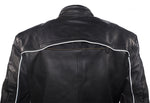 Mens Cowhide Racer Jacket