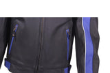Mens Blue Racer Jacket