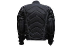 Mens Motorcycle Jacket With Mesh & Nylon Material