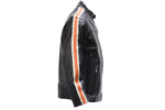Men's Racer Jacket with Racing Stripes