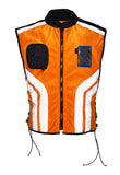 Mens Light Weight Reflective Vest