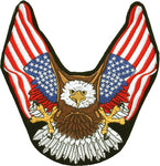 Eagle American Flag Wings Patch