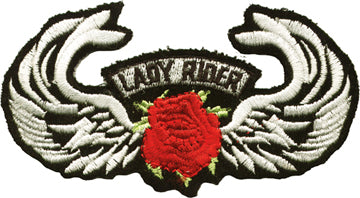 Wings Lady Rider and Rose Patch