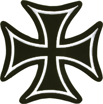 Iron Cross White Border Patch