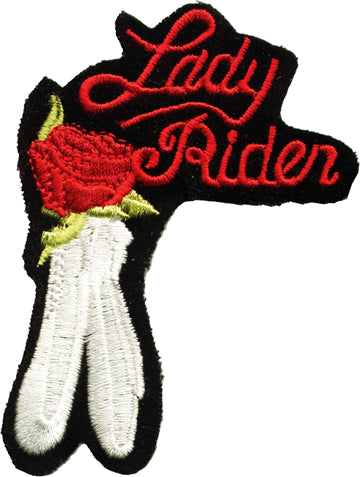 Lady Rider and Rose Patch