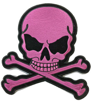 Light Pink Skull  Patch