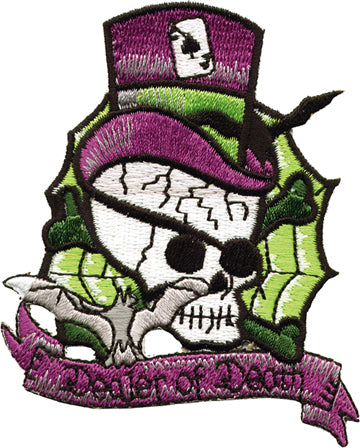 Dealer of Deam Skull Head Patch