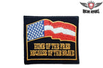 Home Of The Free Because Of The Brave Patch