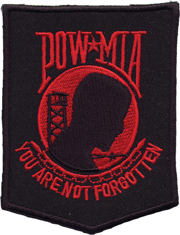 POW Red Patch