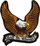 """Hell on Wheels"" & Eagle Patch"