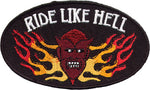 """Ride Like Hell"" Devil & Flames Patch"