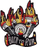 """Born To Run"" Flames Patch"