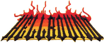 """Hell Bound"" Flame Patch"