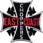 """East Coast Choppers"" Iron Cross Patch"
