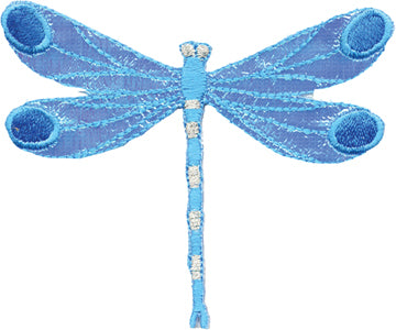 Blue Dragonfly Patch
