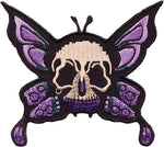 Butterfly Skull Patch