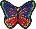 Butterfly Tri-Colored Patch